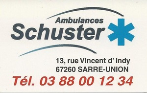 Ambulances Schuster